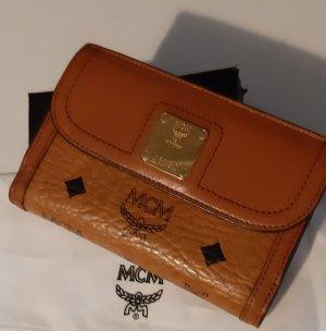 MCM Wallet brown-cognac-coloured