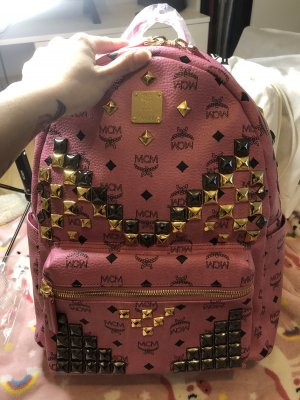 MCM Daypack pink