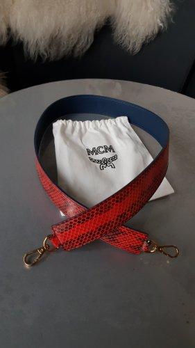Original MCM Schultergurt Trageriemen schwarz rot neuwertig