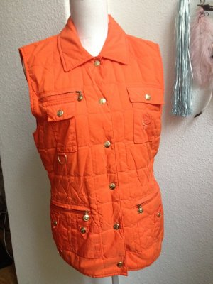 MCM Reversible Jacket orange silk