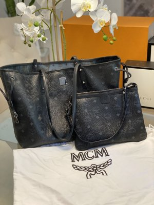 Original MCM Shopper inkl. Clutch