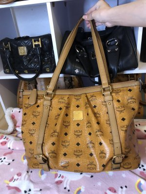 MCM Bolso color bronce