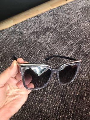 Original Mcm Sonnenbrille neu Silber blau