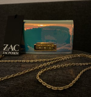Original Metallic Mini Tasche von Zac Posen