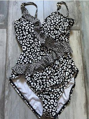 Michael Kors Zwempak wit-zwart