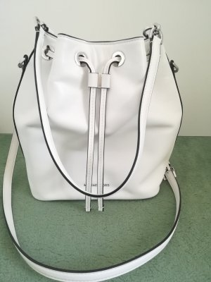 "original Michael Kors Beuteltasche Large Bucket Bag ""Dottie"" optic white"