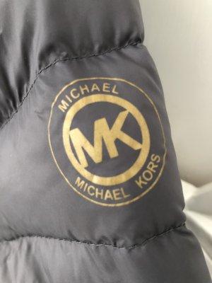 ORIGINAL MICHAEL KORS DAUNENJACKE 90% DAUNE 10% FEDERN ANTHRAZIT SUPER LEICHTE ABER KUSCHEL WARME STEPPJACKE GR XXL 2 XL
