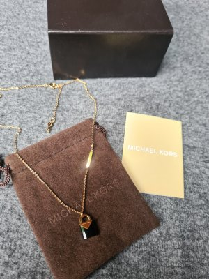 Michael Kors Necklace black-gold-colored