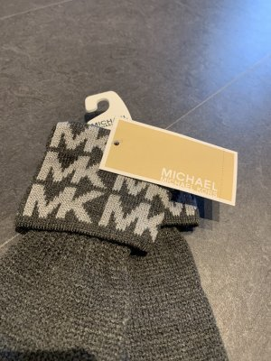 Michael Kors Knitted Gloves light grey-grey
