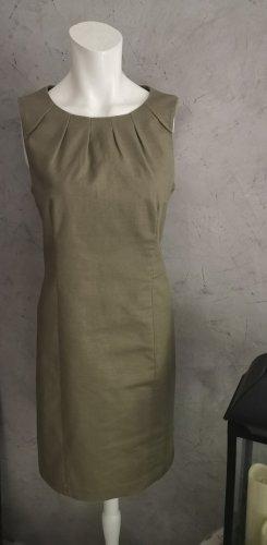 Michael Kors Sukienka etui khaki Tkanina z mieszanych włókien