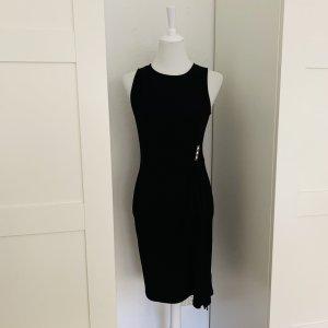 Original Michael Kors Kleid festlich drapiert und mit silbernen Schnalle Gr. XS