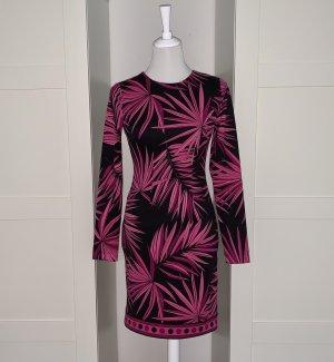 Original Michael Kors Kleid mit Palmenblättern als Motiv