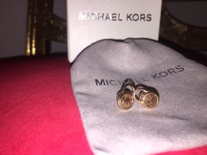 Michael Kors Zarcillo color rosa dorado