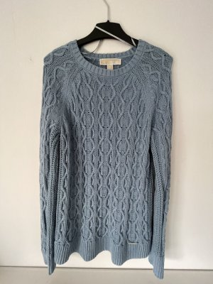 Michael Kors Cable Sweater azure