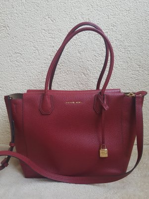 Michael Kors Handbag gold-colored-dark red