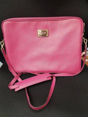 Original Michael Kors Tasche pink Saffiano Leder Laptoptasche