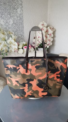 Original Michael Kors Tasche Shopper Camouflage