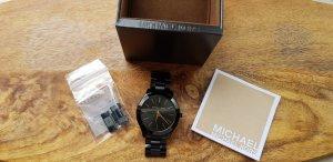 Michael Kors Watch With Metal Strap black