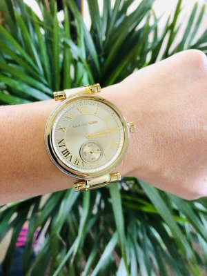 Original Michael Kors Uhr in Gold