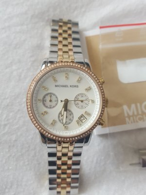 Original Michael Kors Uhr - tricolor