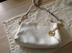 Michael Kors Crossbody bag white-gold-colored