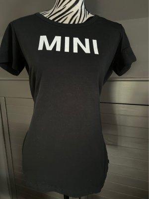 Mini T-shirt imprimé noir-blanc