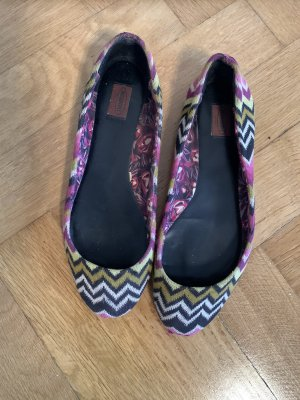 Missoni Classic Ballet Flats multicolored