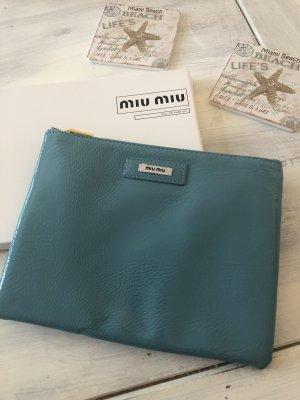 Miu Miu Mini sac bleu cadet