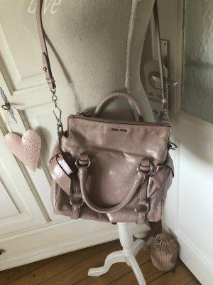 Miu Miu Handbag dusky pink-pink leather