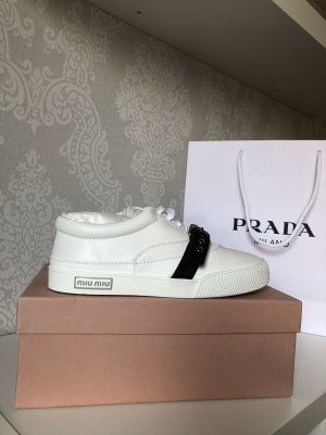 Miu Miu Sneakers white-black