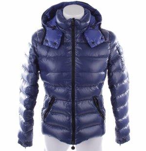 original Moncler Daunenjacke Bady blau lila Gr. 1 XS S Jacke tailliert