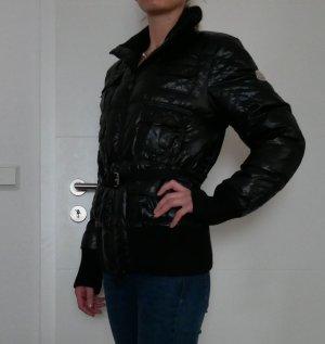Original Moncler Daunenjacke Winterjacke schwarz Gr.3 38/40 Damen Jacke