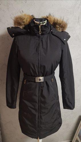 Moncler Down Coat black mixture fibre