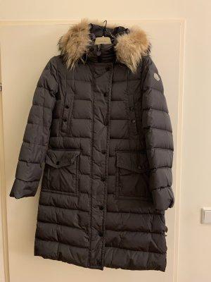 Moncler Manteau en duvet taupe