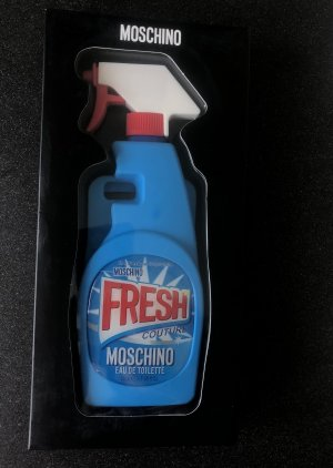 Original Moschino Fresh Spray iphone 6/ 7/ 8/ se 2020 case Hülle