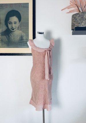 Original Moschino Kleid Gr.38 Leinenkleid