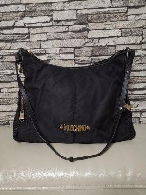 Original Moschino Vintage Tasche schwarz gold