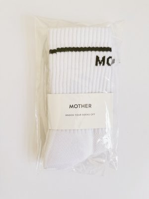 Mother Legwarmers white