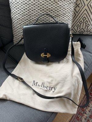 Mulberry Bolso negro-color oro