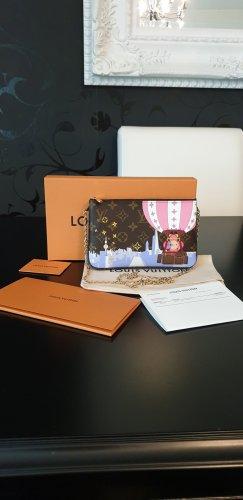 Original Neu Louis Vuitton Double Zip Pochette
