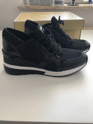 Michael Kors Sneakers met hak zwart