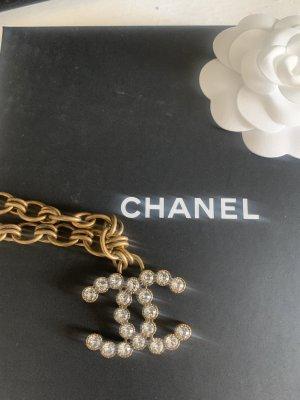 Chanel Collana oro-bianco