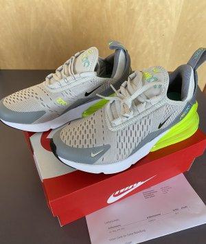 Original Nike Air Max 270 neon gelb 37 neu Fullset