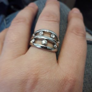 Original Nino Cerruti Ring, Gr. 18