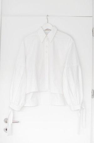 Original Nobi Talai Bluse Baumwolle Weiß Gr. 36/38 Vintage Look Designer Neu