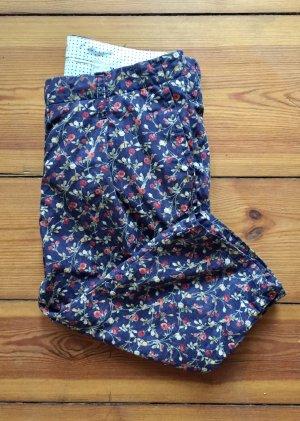 November Pantalone Capri multicolore Cotone