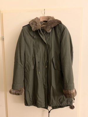 Woolrich Parka olive green