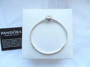 Pandora Pulsera color plata plata verdadero