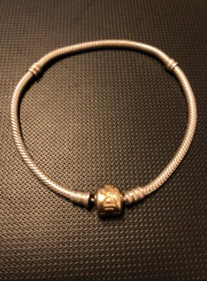 Pandora Charm gold-colored-silver-colored real gold