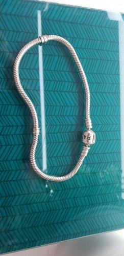 Pandora Charm Bracelet black-silver-colored